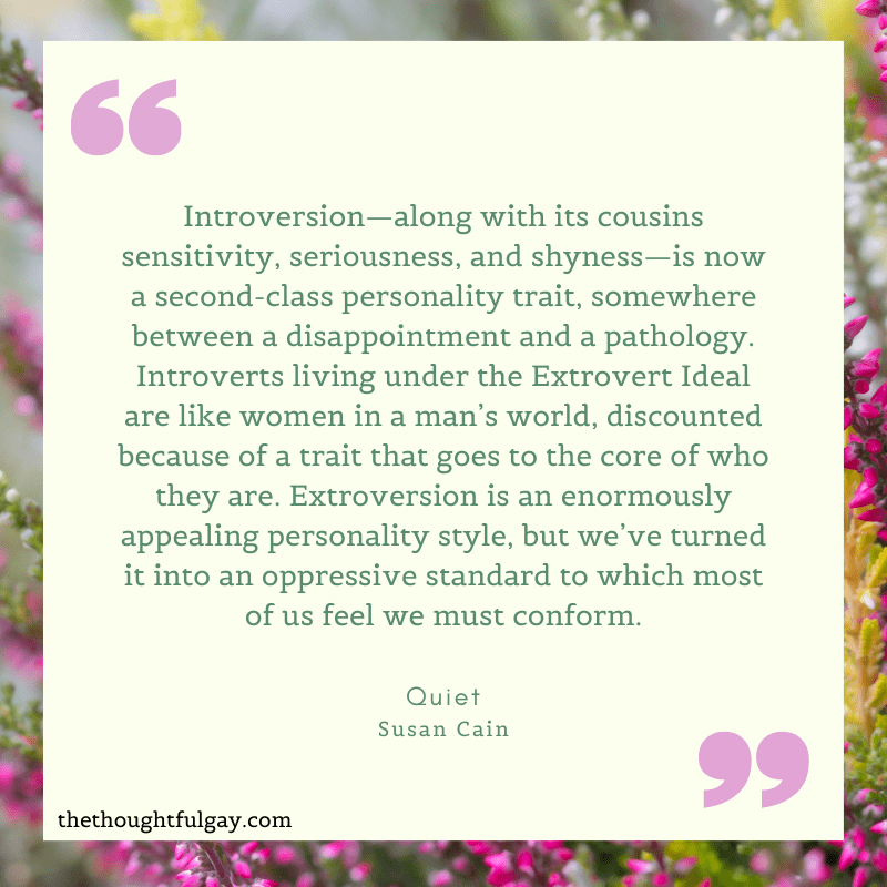 introvert susan cain quiet the thoughtful gay